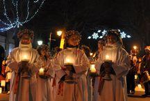 Noël à Châtelaillon / La sainte Lucie, la crèche vivante, la baignade des banquisards, la fin d'année est festive à Châtelaillon.