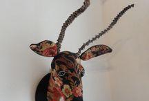 Mes réalisations textiles / tableaux textiles et bestiare