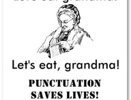 LANGUAGE - WORDS, PUNCTUATION / by Peter Thompson