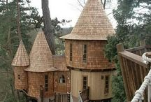 Treehouses, Studios & Other Domestically Located Hideaways