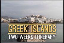 Greek Islands Itinerary