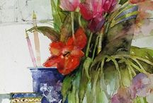 shirley trevena watercolor
