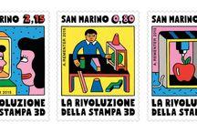 San Marino 2015 Stamps / San Marino Post 2015 Stamp Issue