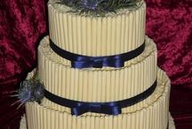 Scottish themed cakes