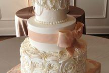 square and round cake