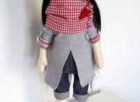 Текстильные игрушки и одежда для них