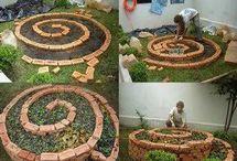 Mandalas em jardins e hortas