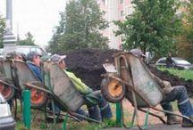 işçiler dinleniyor pratik zeka