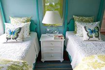 Blue Bedroom / by Zanne Blair