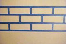 Brick wall / by April Winslow-Cote
