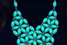 Bob turquoise necklace / Turquoise blue  love it!