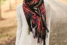 Fall Looks We Love / Sweaters, flannel and curls - oh my!