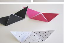 Origami objects - inspiration