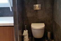 Badkamers made by Ceramique / Hier vindt u afbeeldingen van door Ceramique Haaksbergen ontworpen en geraliseerde badkamers.