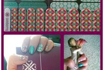 Nailed It! / Jamberry nail wraps and lacquers