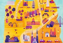 Imagery and Illustration - Map Illustrations