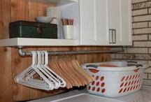 Laundry/pantry.  / by Kendal Adams Barham