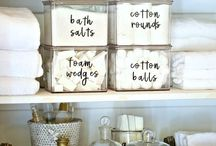 Printable labels / A round-up of printable labels to help you organize everything.