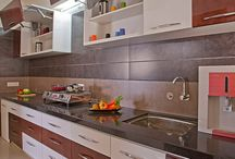 Kitchen cabinet layout
