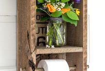 Home decor pour toilette