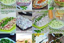 Salata ve meze çeşitleri