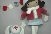 Felt Doll, Boneka Flanel