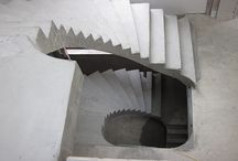 Curved concrete stairs / We construct curved concrete stairs and would like to share images of our work with you.