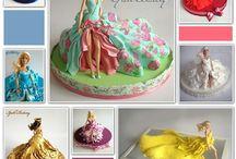 Dolls cake