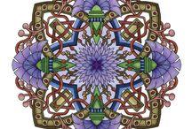 Mandalas Coloriés