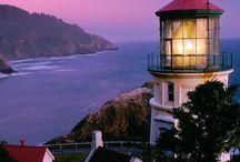 Lighthouse&mountains