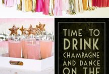 My Pink and Gold Glitter Sweet 16 / My Sweet 16 party. This is the theme I decided on! / by Ali Arnold