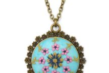 Boho Jewelry / Shop for beautifully hand-painted and handmade boho jewelry from www.selsal.online Handmade in Egypt
