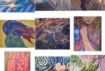 8owls art & prints / This is my art - oil on canvas / Авторские картины маслом на холсте.