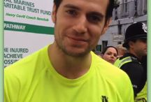 Henry Cavill Gibraltar / Gibraltar The Rock Run 25.10.2014 support Henry Cavill's for the Royal Marines Charitable Trust Fund   for the 350th Anniversary of the Royal Marines