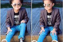 crianças estilosas meninos