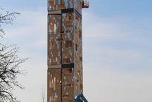 """Projekte unserer 1100 Mitgliedsbetriebe / Nicht immer bauen Zimmereien """"nur"""" Wohnhäuser"""