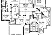 Floor plans / by Jane Dugger