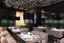 Modern Restaurant / Wonderful interior for a good rest of our visitors