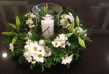 Xmas wreath / Candle light