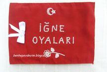 Turkish Needle Lace / Igne Oyasi