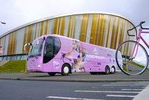 Contra Vision    Vehicle Graphics / Contra Vision enables vehicle advertising to extend onto the side and rear windows of buses, cars, trams, taxis and trains of all shapes and sizes and in all climates.