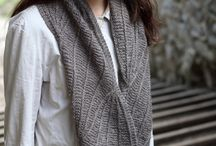 The Dovestone Natural Aran Collection / Traditional yet stylish, soft and warm, The Dovestone Natural Aran Collection is a collection of seven beautiful sweater and accessory patterns from some of the world's best independent hand knitting designers.