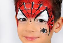 Facepainting inspiration. / Pictures for inspiration.