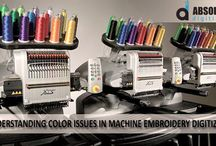 Understanding color issues in machine embroidery digitizing