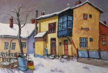 David Croitor paintings