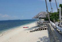 The beach of Trikora Beach Club and Resort