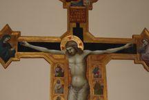 Bonaccorso di Cino (sec. XIV): Crocifisso. Fiesole, Santa Maria Primerana / Bonaccorso di Cino (sec. XIV): Crocifisso. Fiesole, Santa Maria Primerana