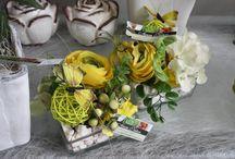 Compositions florales / Floral arrangements