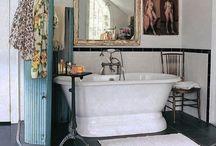 Helena Christensen's bohemian life style