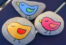 Stones painting